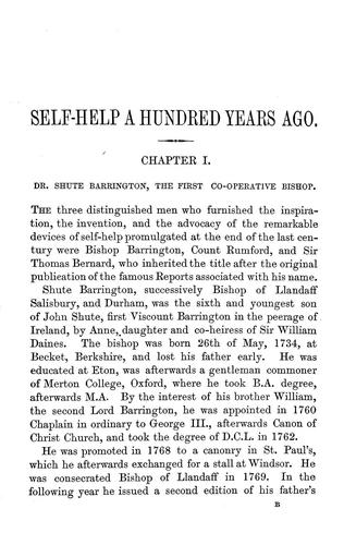 Download Self-help a hundred years ago