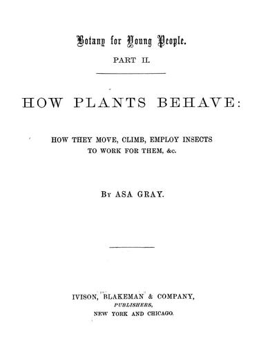 Download Botany for young people