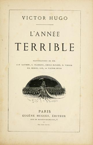 L' Année terrible by Victor Hugo